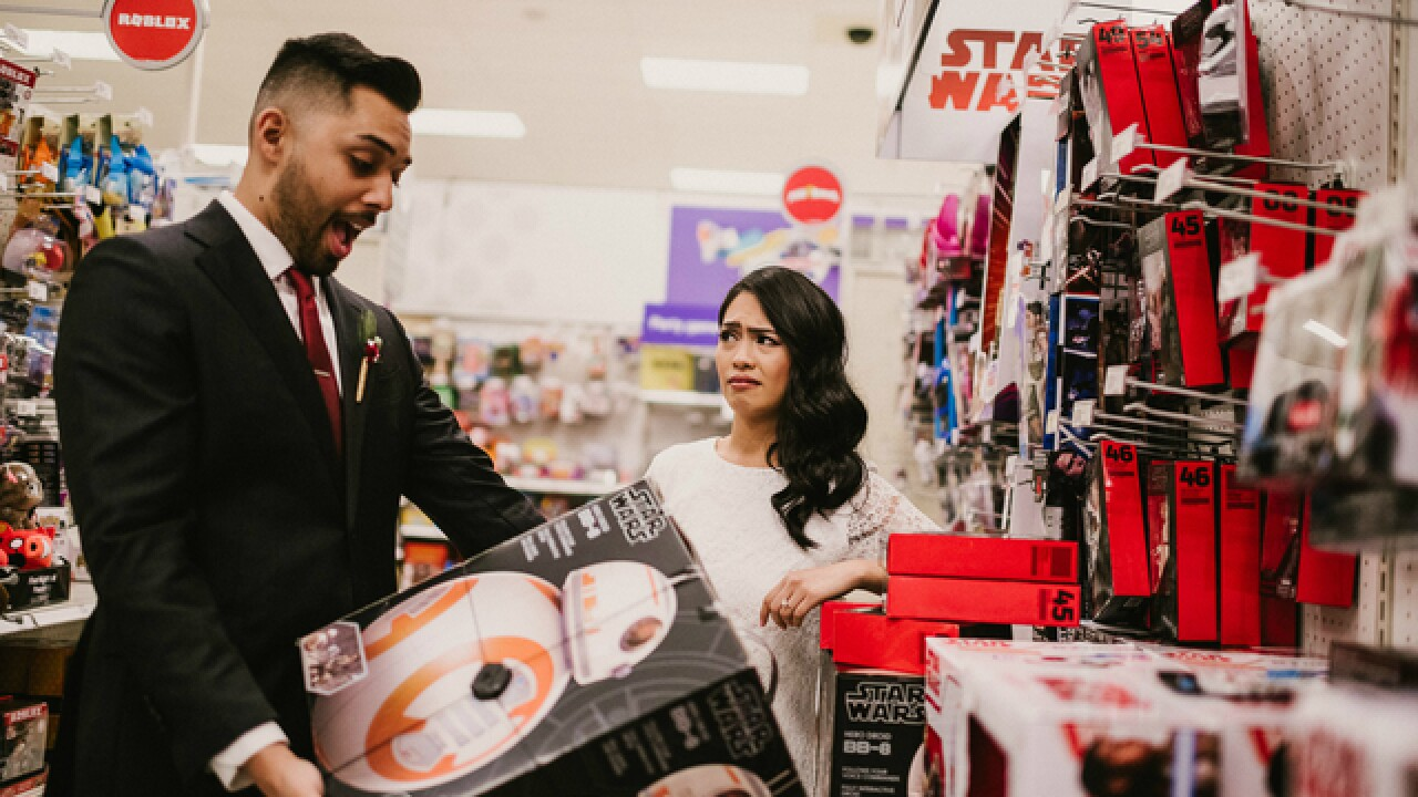 Fla. couple shows Target love in wedding pics