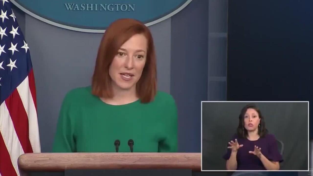 White House Press Secretary Jen Psaki speaks about COVID-19 pandemic on Jan. 25, 2021.jpg