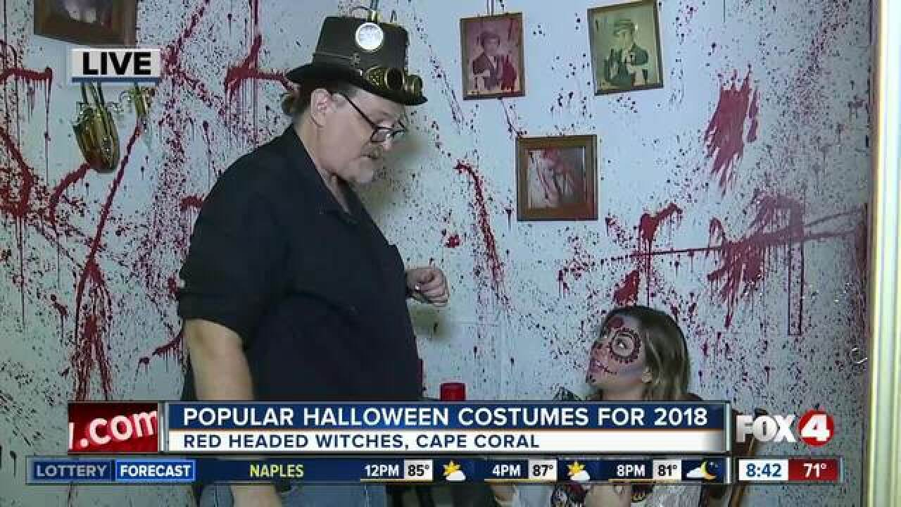 Most popular Halloween costumes for 2018