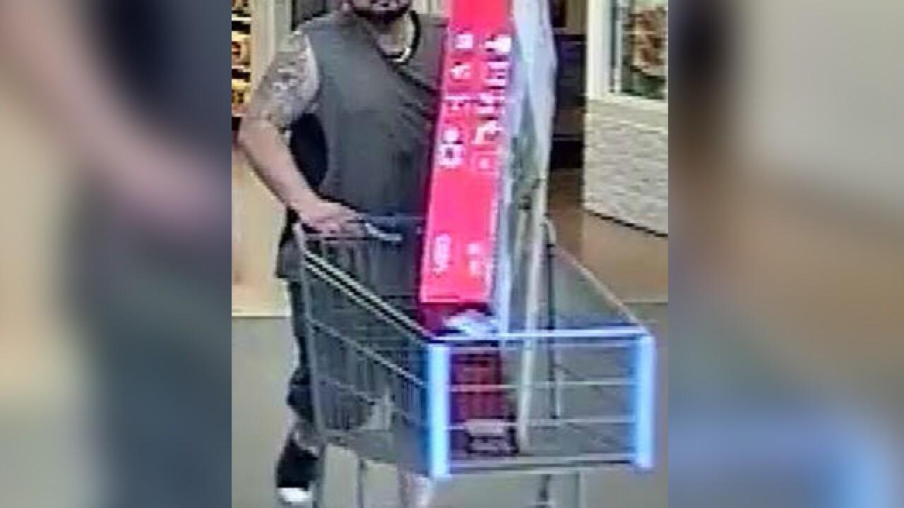 Sahuarita Police searching for Walmart shoplifting suspect