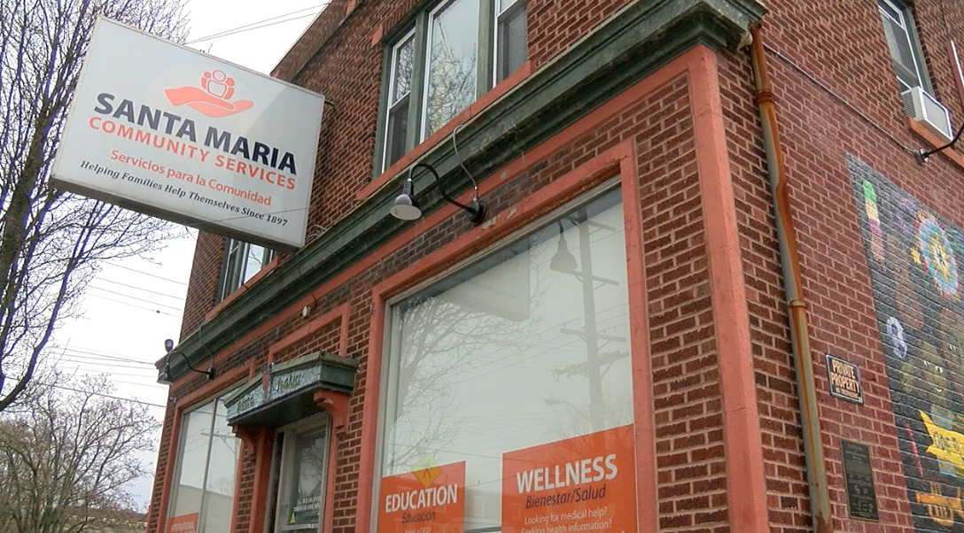 Las oficinas de Santa Maria Servicios para la Comunidad se encuentran en Price Hill