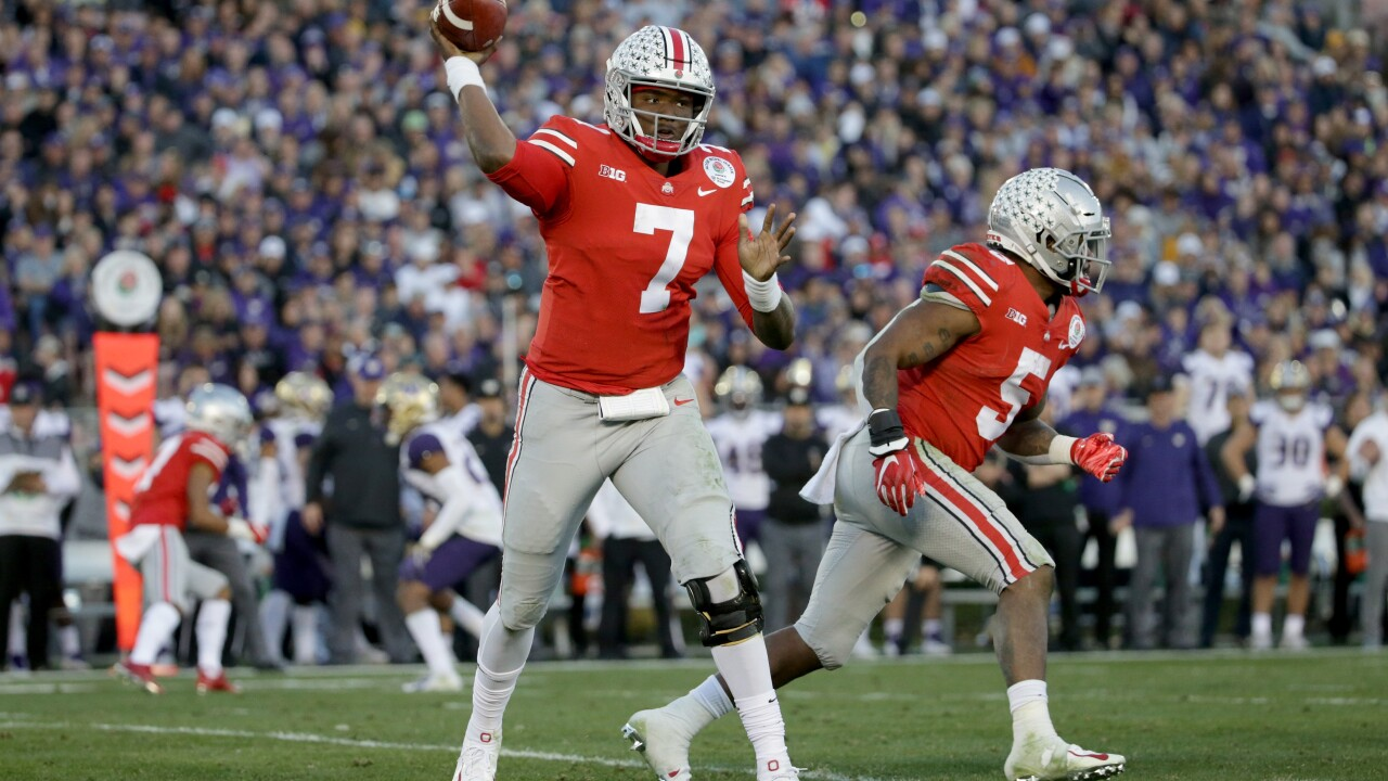 'Skins splash: Redskins select QB Dwayne Haskins in 1st round of 2019 NFL Draft