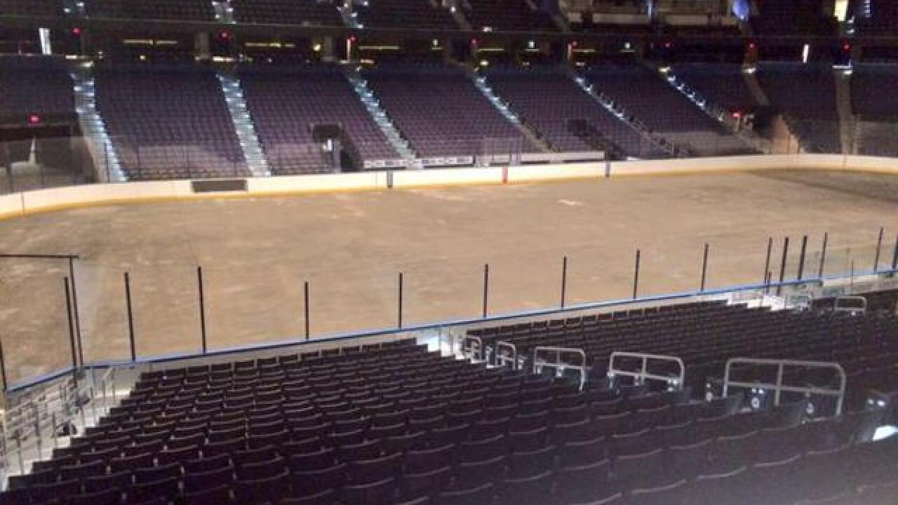 New ice for a newly renovated Amalie Arena