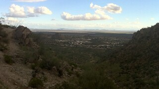 Police in Phoenix say a dead body has been found on a South Mountain hiking trail.