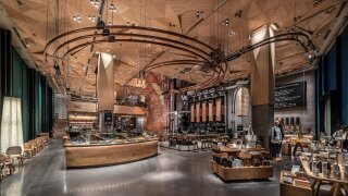 Photos: Starbucks' new 32,000-square-foot store in Tokyo is its biggest in the world