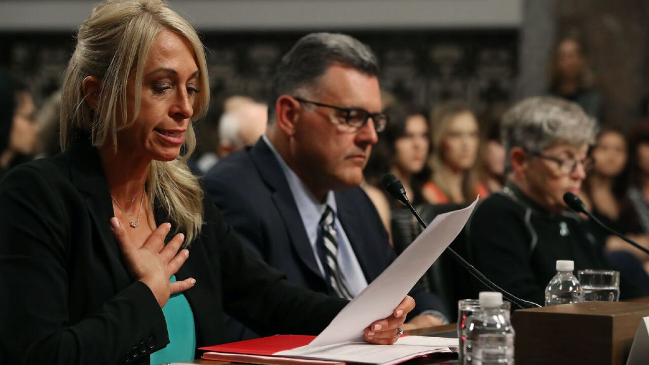Former U.S. Gymnastics Officials Testify To Senate Committee On Preventing Abuse And Ensuring Safe Environment For Athletes