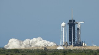 SpaceX Demo-2 Static Fire