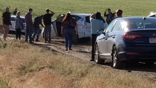 Google Maps detour left about 100 cars stranded on impassable dirt road