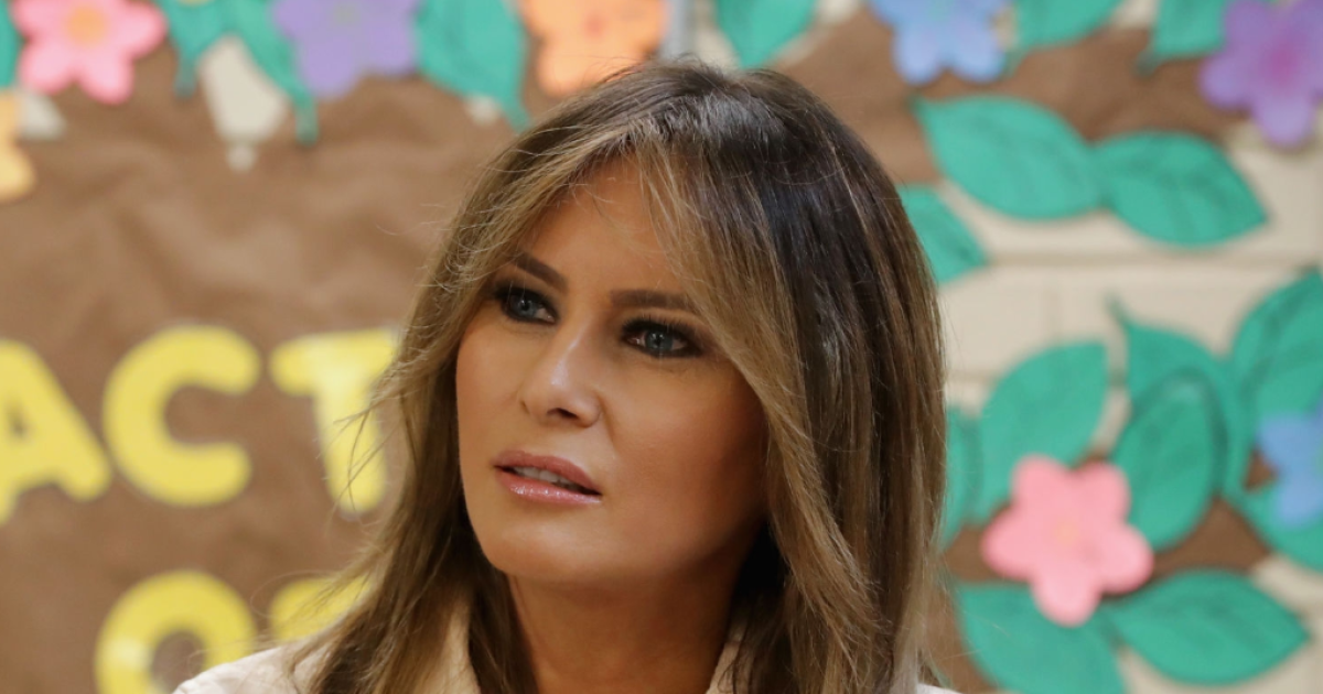 First Lady Melania Trump travels to Wyoming