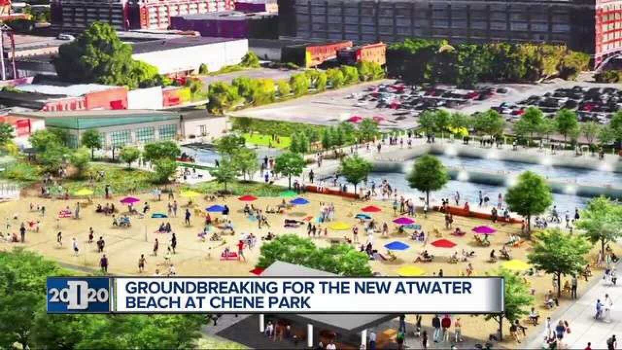 Groundbreaking set for Atwater Beach in Detroit