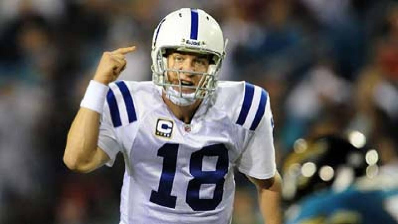 Peyton Manning leaving Colts