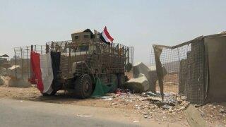 American armoured vehicles Yemen
