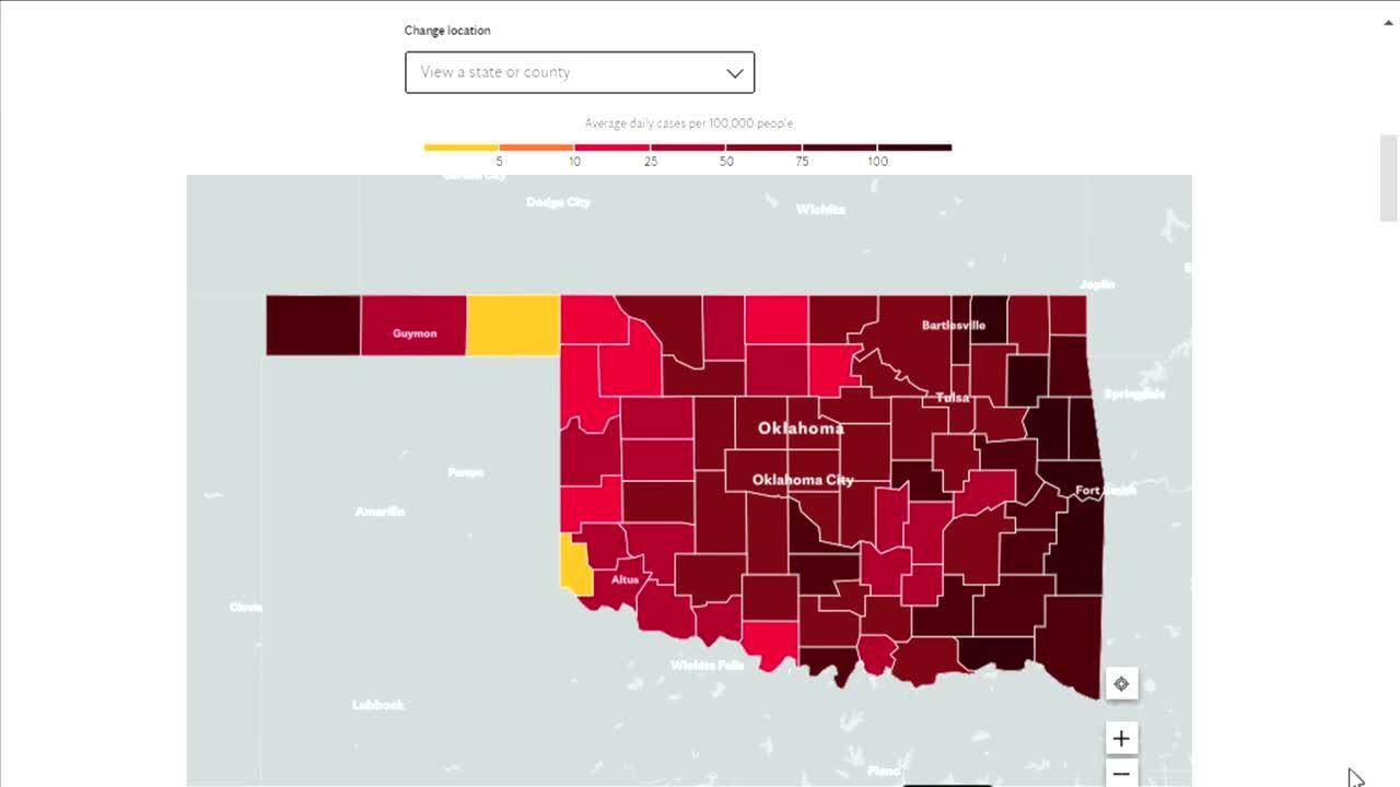 Mayo Clinic map