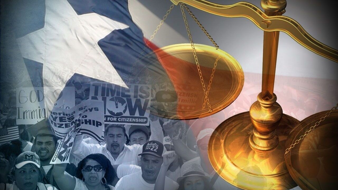 Texas' lawsuit against immigration action receives some national support