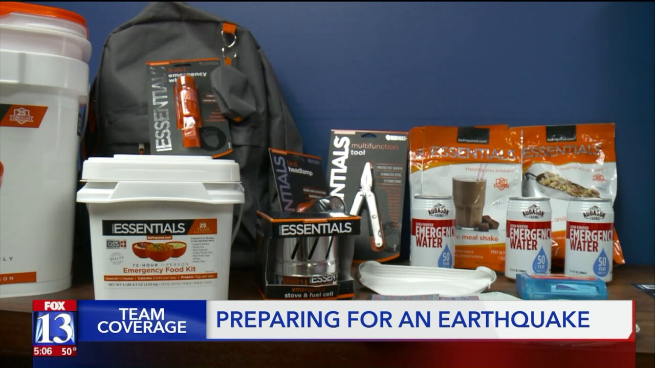 After two earthquakes in Utah reported, an expert weighs in on emergencypreparedness