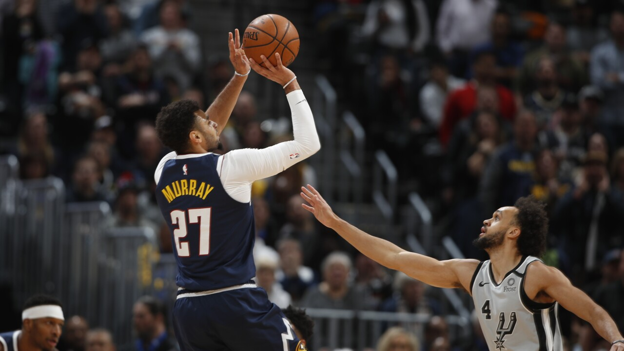 Nuggets come from 23 down to beat Spurs 127-120