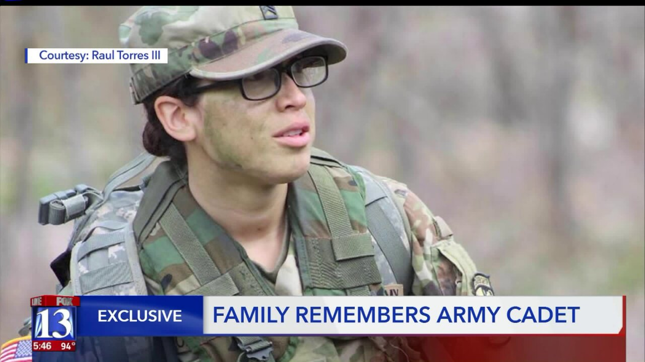 Family remembers Elva 'Lala' Torres, the University of Utah ROTC Army cadet who died in training