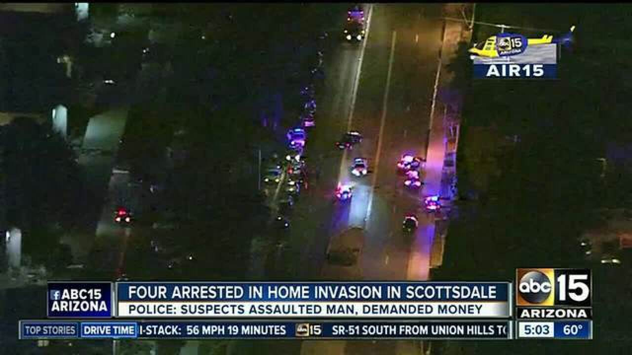 PD: CA friend witnesses home invasion calls PD