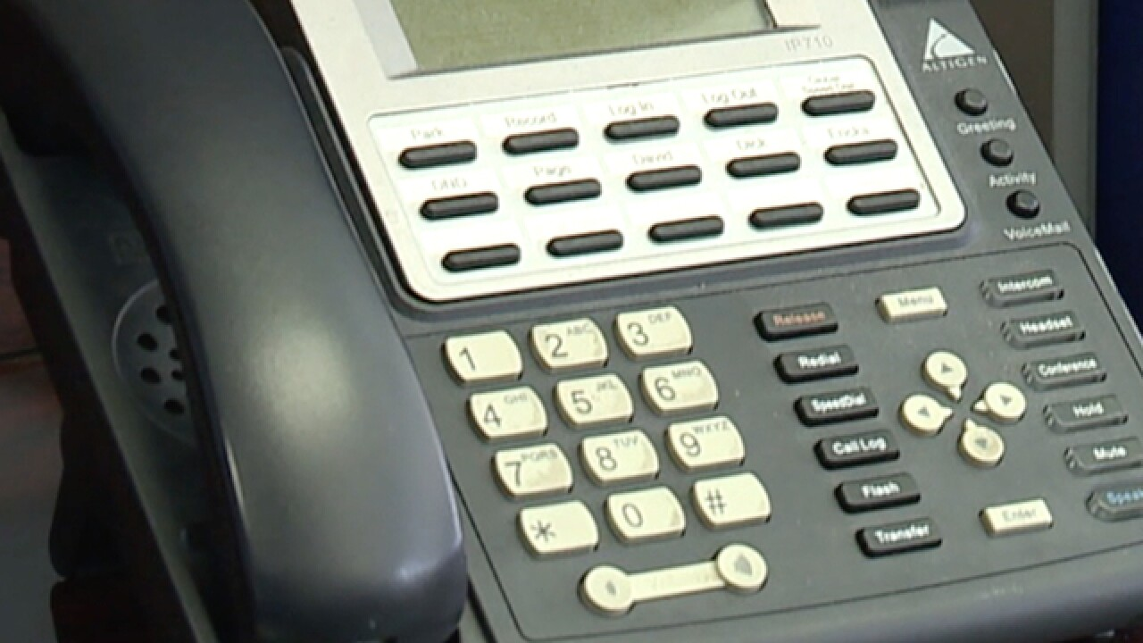 Ohio woman hit by hundreds of robocalls