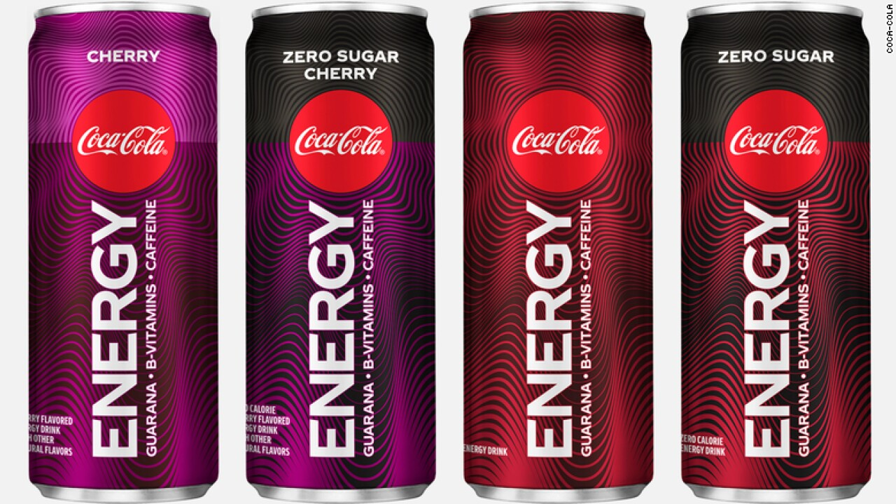Coca-Cola Energy is coming to the U.S.