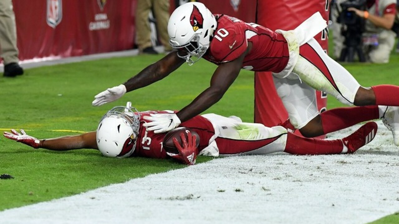 LOCAL HERO: Valley native Christian Kirk's catch wins game for Cardinals