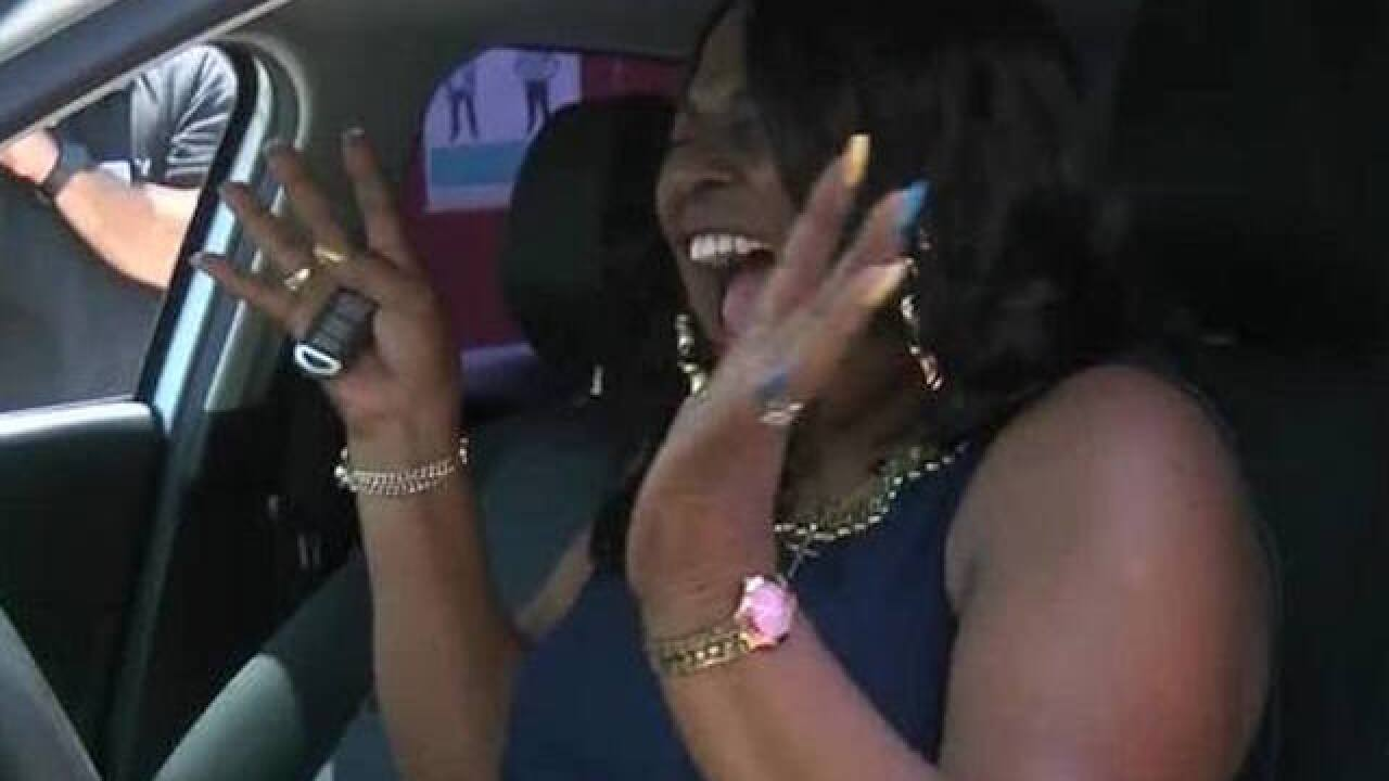 Selfless California lunch lady gets new car from students