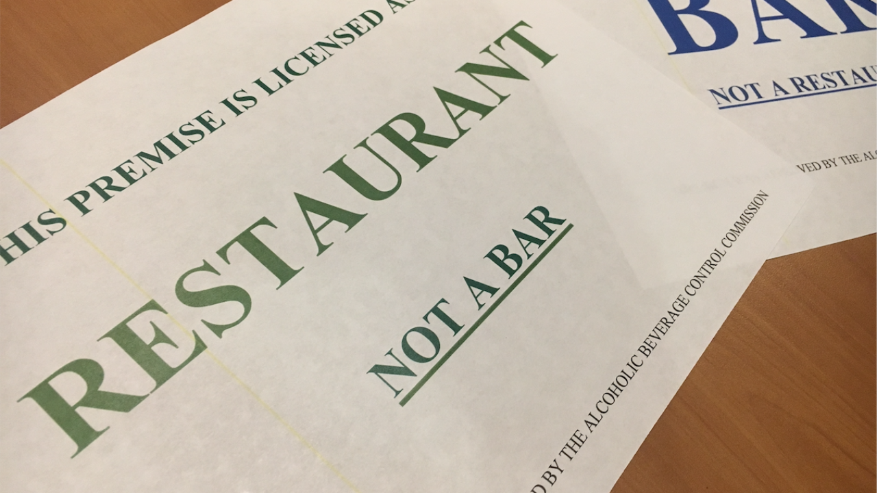 Every restaurant or bar in Utah will have to display one of thesesigns
