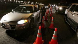 These are the most dangerous places to be driving on New Year's Eve, study shows