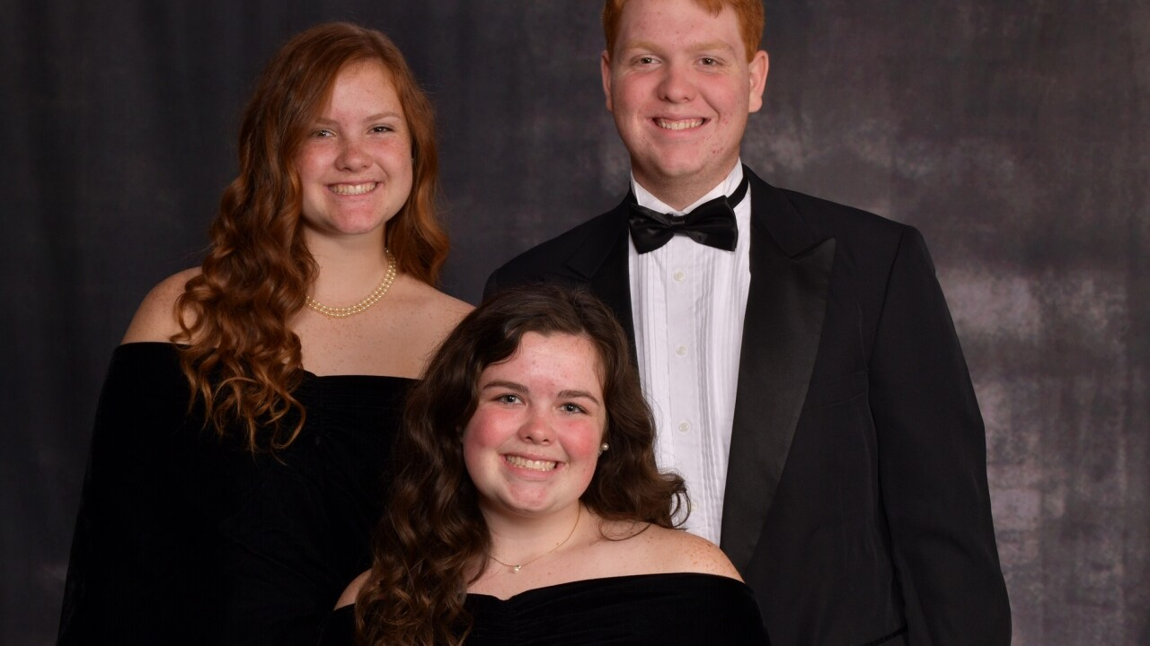Liam, Claire, and Megan Geith, Kecoughtan High School.jpg