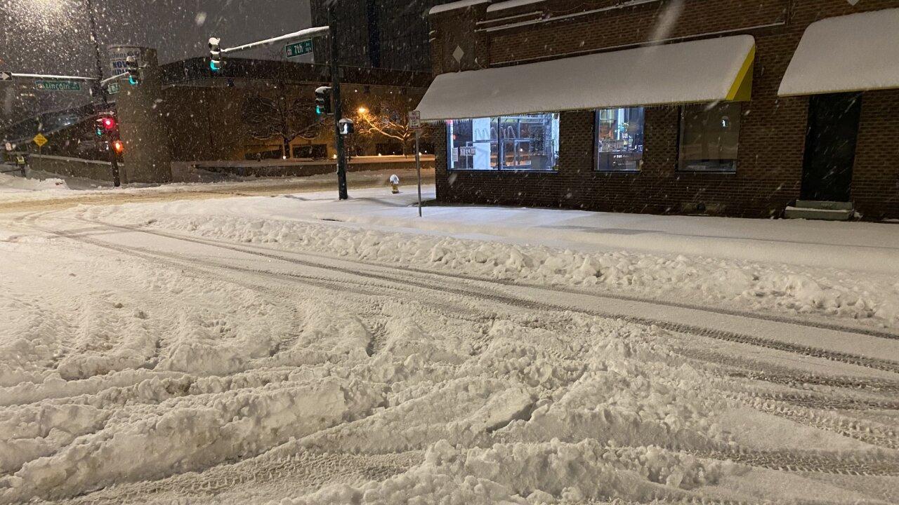 Feb 25 2021 snow