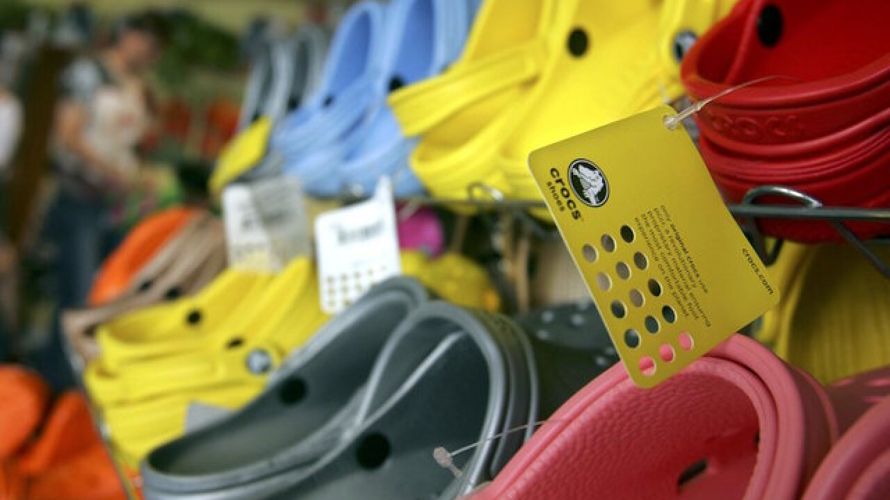 Crocs closing all manufacturing facilities, announces CFO's resignation