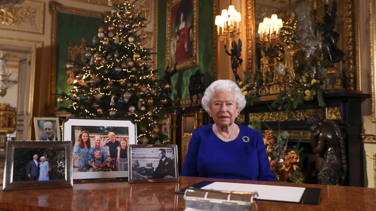 Queen Elizabeth's Christmas message reflects on turbulent year