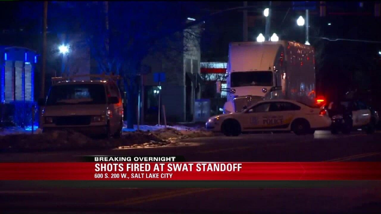 SWAT standoff ends with gunfire, arrests in SaltLake