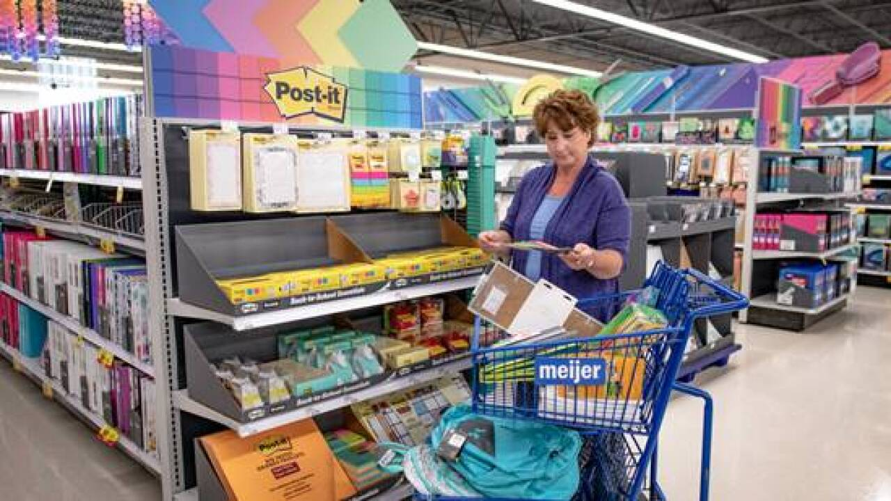 Meijer is giving teachers 15 percent of at all stores through September