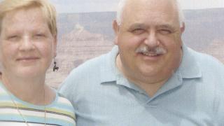 Harold Treadwell III and his wife Frances