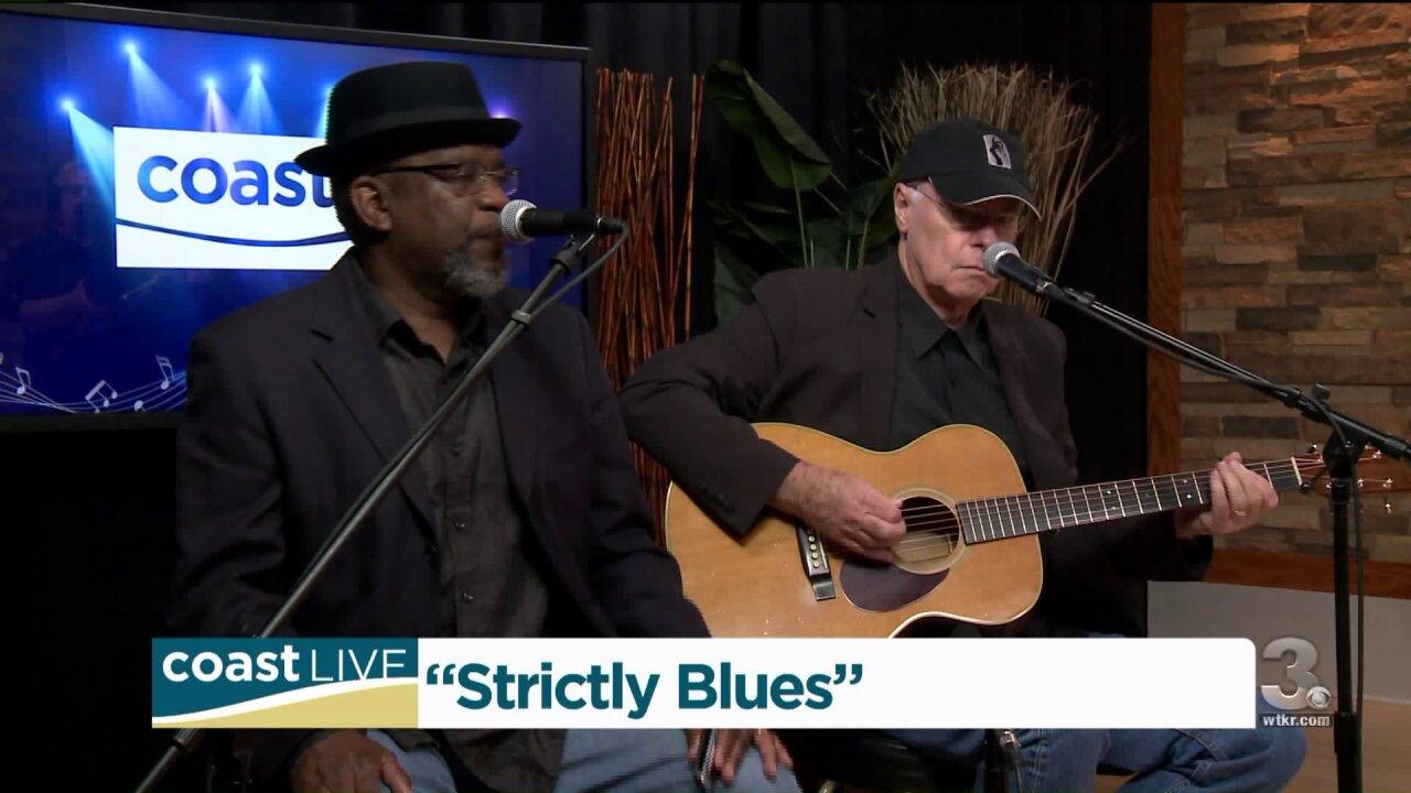 "Local music spotlight: Ron Fetner and Bobby ""Blackhat"" Walters on CoastLive"
