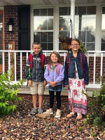 Back to school in pictures