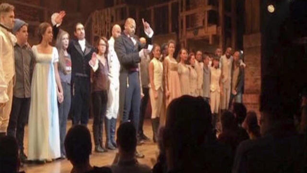 'Hamilton' actor says there's 'nothing to apologize for' regarding Pence comments