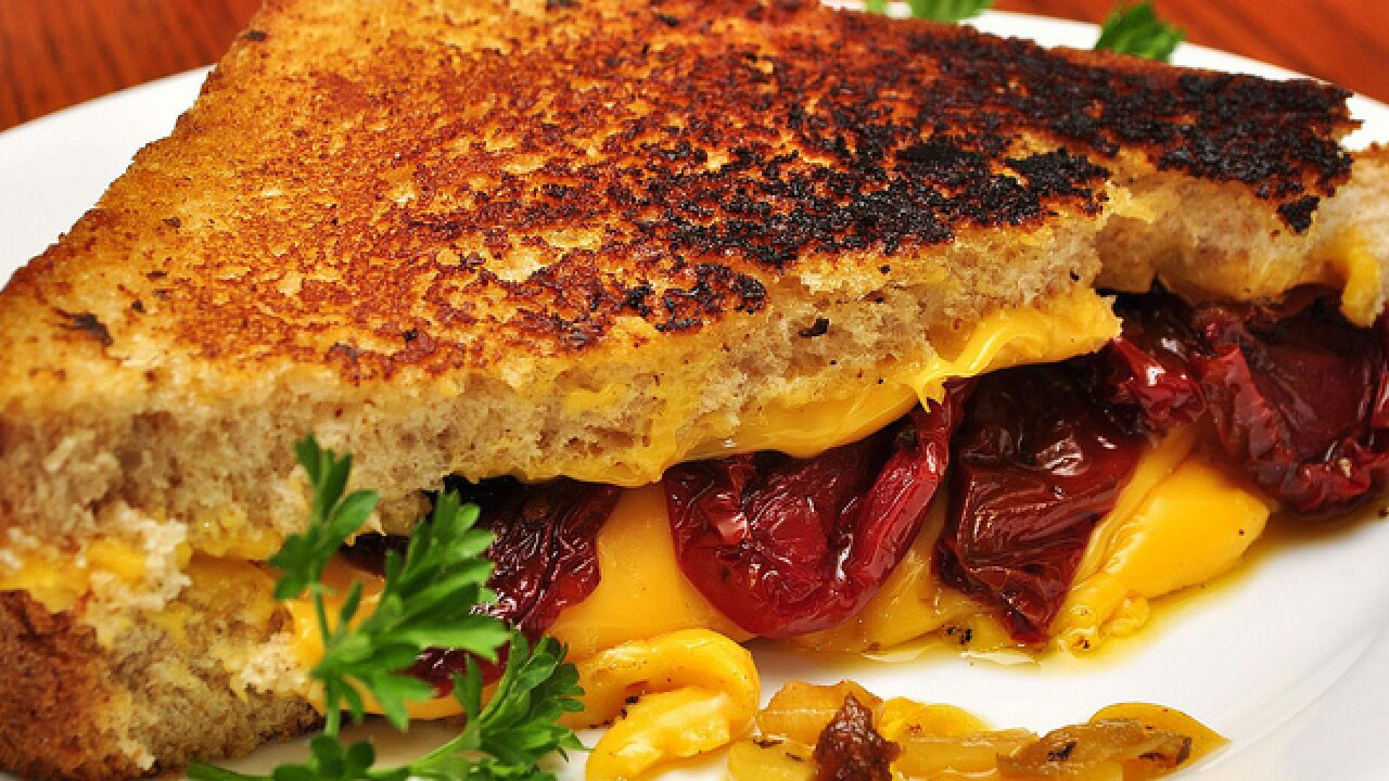 PHOTOS: National grilled cheese day
