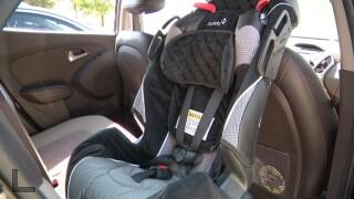 BPD & CHP host free car seat check up