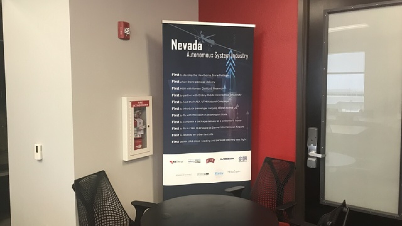 Nevada launches center to improve drone safety