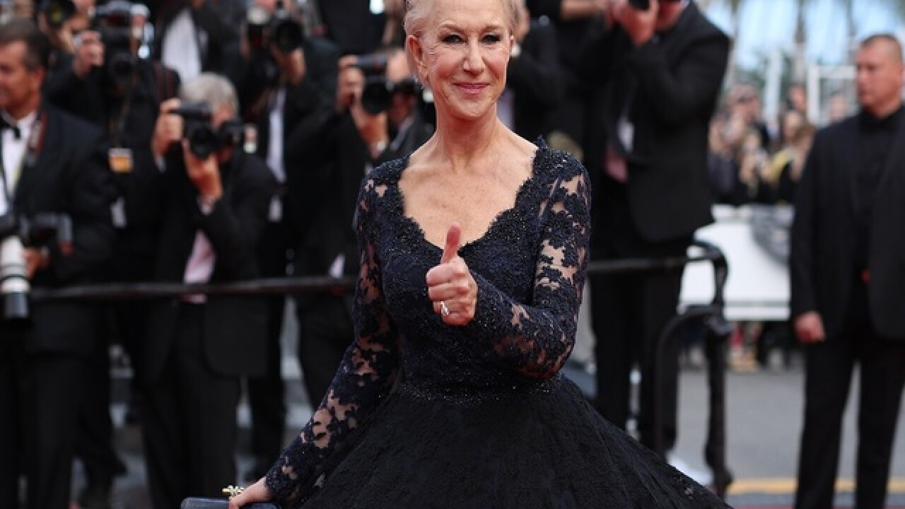 Helen Mirren among stars at AIDS fundraiser