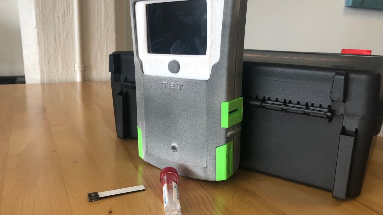 Akron start-up Triple Beam Technologies developing breathalyzer for marijuana