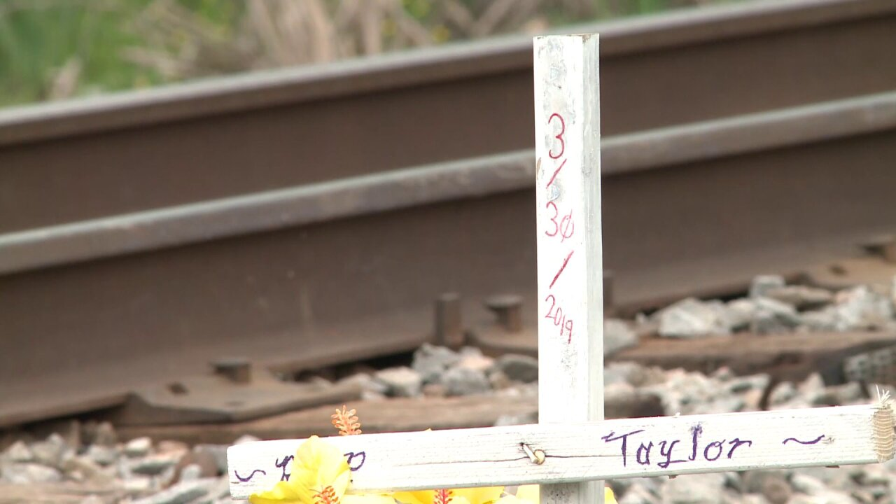 Family of woman who died in Chesapeake train crash takes action to make railroad crossing safer