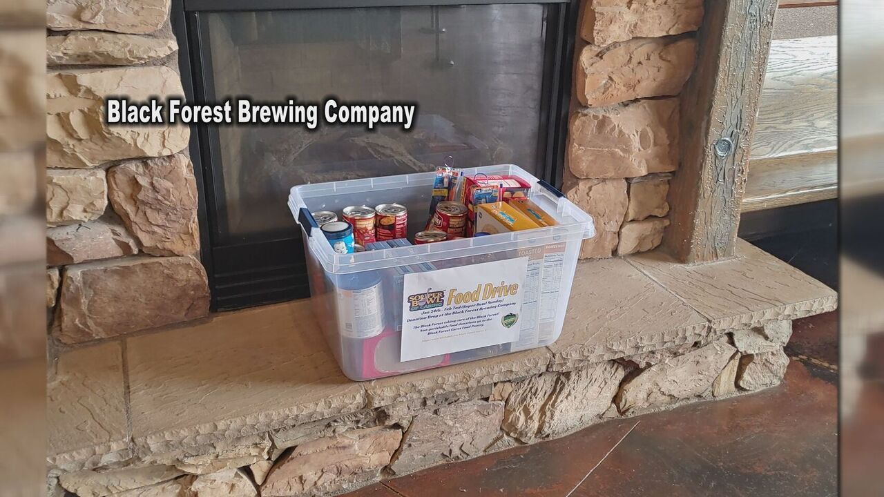 'Souper Bowl of Caring' food drive helping Black Forest pantry