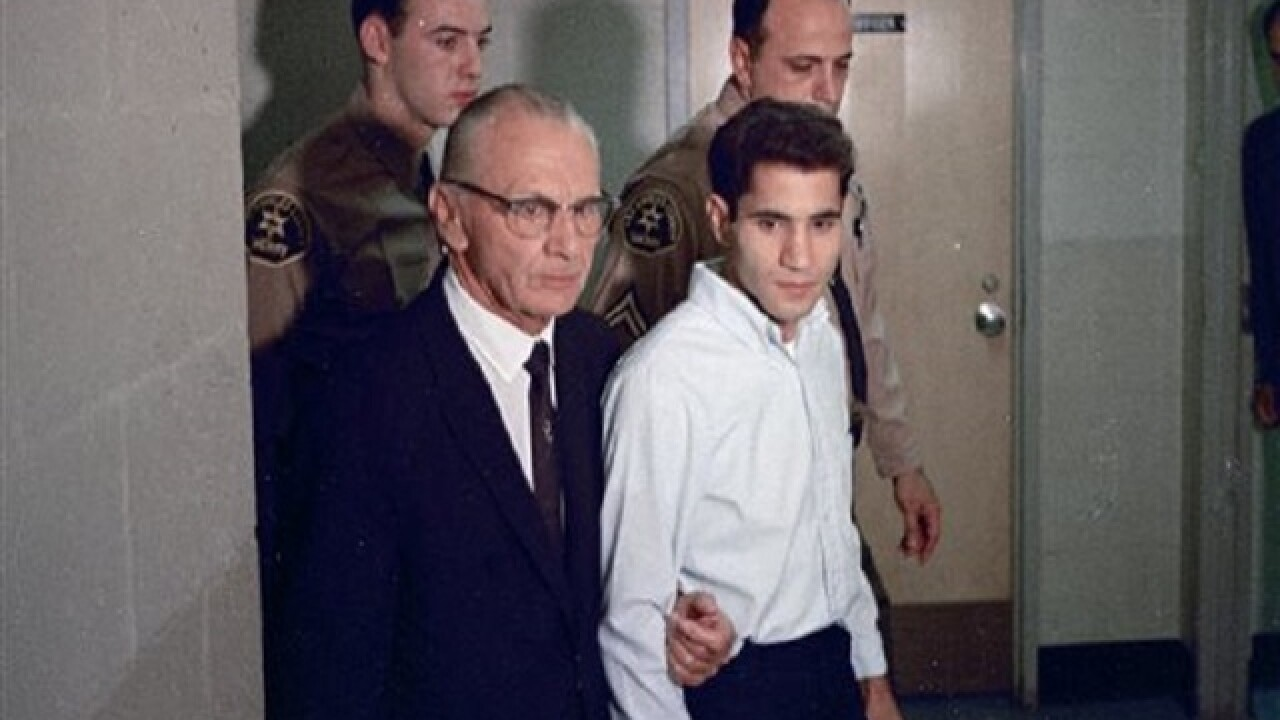 Parole hearing set for Robert Kennedy killer