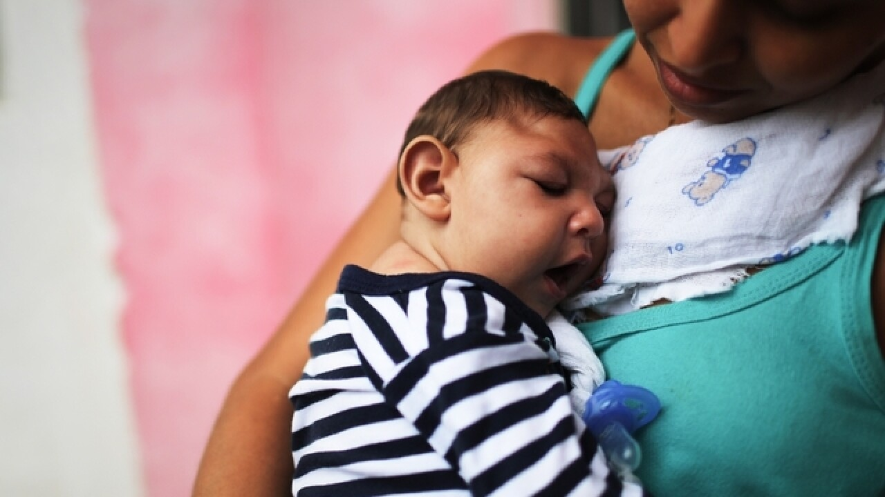 Zika virus: 3 babies born with birth defects in US so far, CDC says