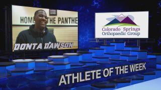 KOAA Athlete of the Week: Harrison's Donta Dawson