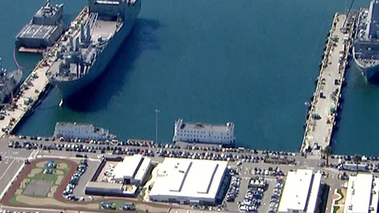 Bomb threat reported at Naval Base San Diego