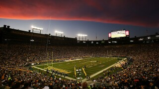 Lambeau Field at Sunset